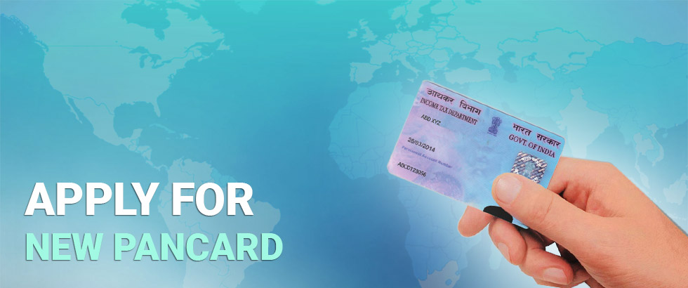 Apply for new pan card