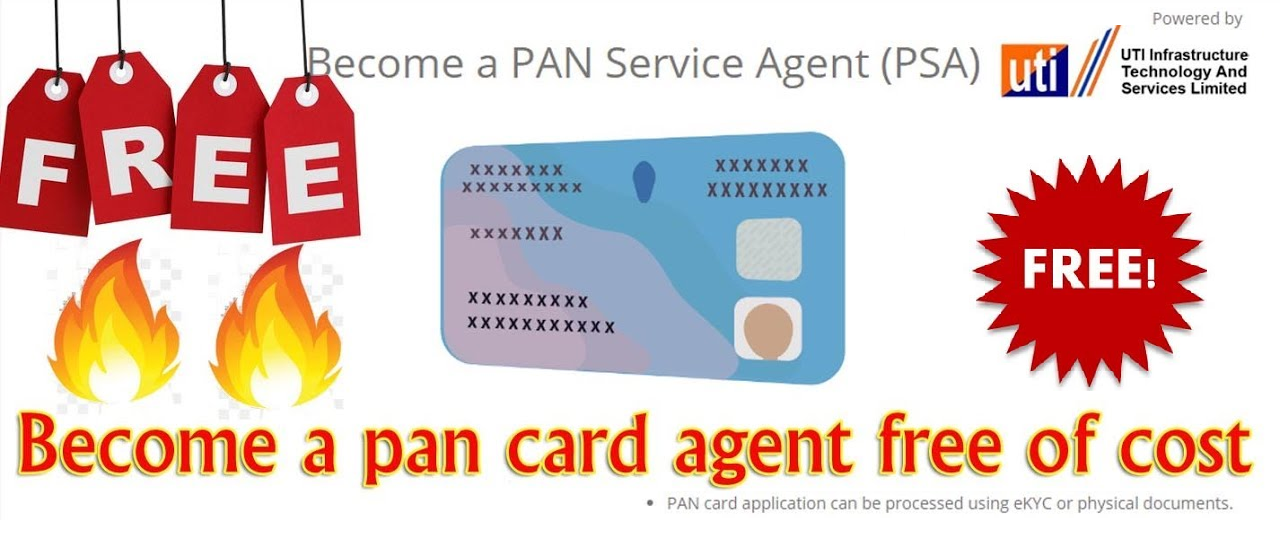 Become UTI Pancard Agent