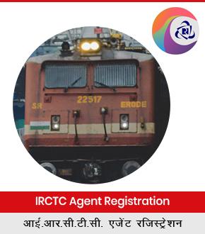 IRCTC Agent Registration