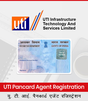 UTI Pancard Agent Registration